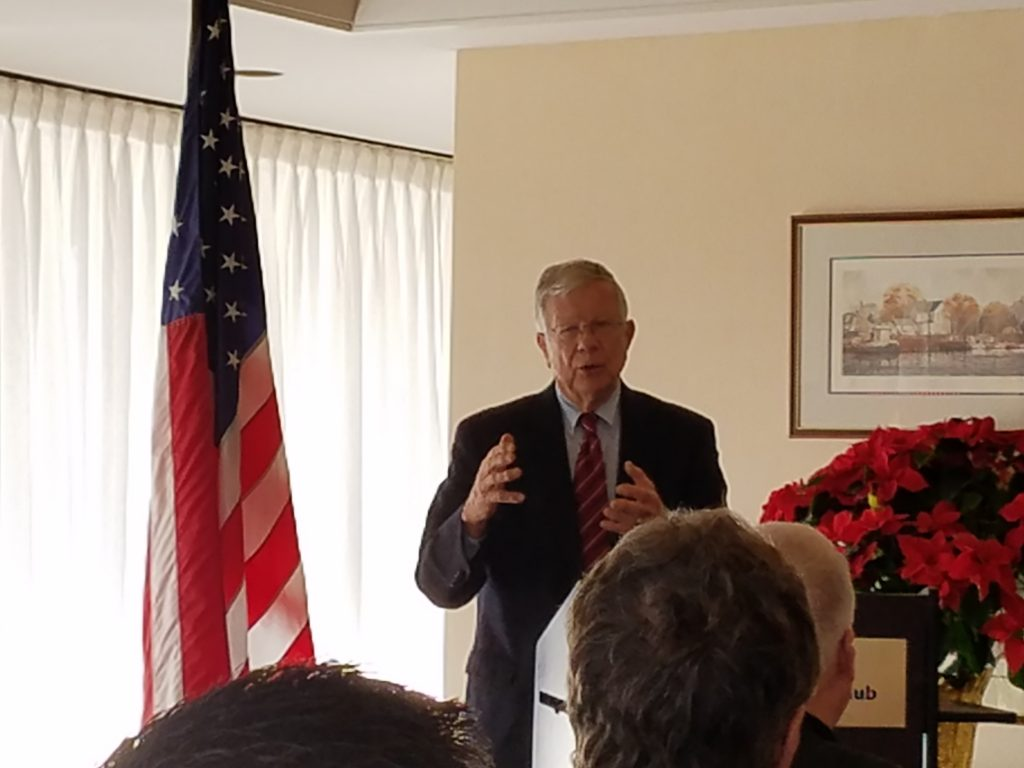 December Club Luncheon featured Jim Oliver, 2016 Norfolk's First Citizen