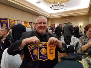 Norfolk Cosmo Medal of Merit Award